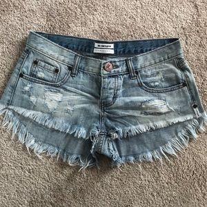 One Teaspoon Banditas Cutoff Shorts